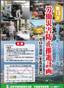 第13次労働災害防止計画ポスター